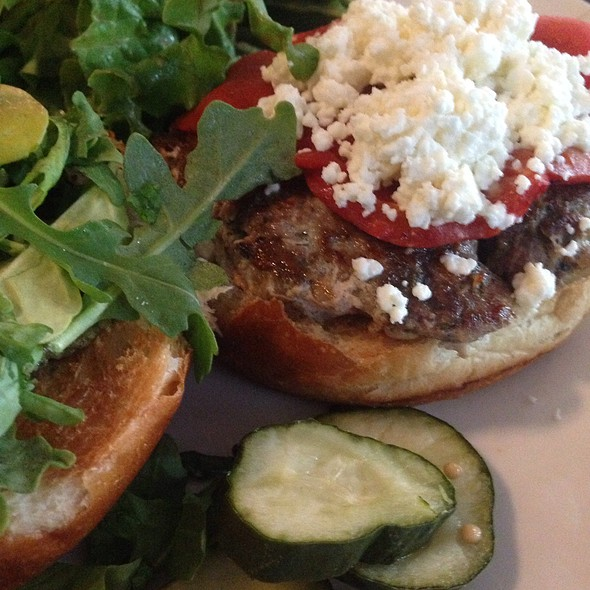 Lamburgesa (Lamb Burger) - The Wright Room @ Appaloosa Grill, Denver, CO