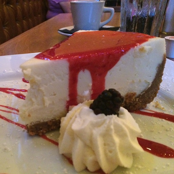 Raspberry Cheesecake - McAdoo's, New Braunfels, TX