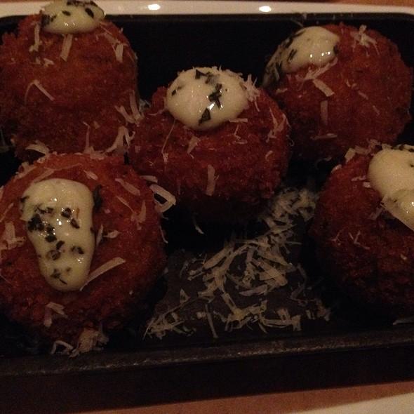 Roasted Mushroom Arancini - Food Wine and Co., Bethesda, MD
