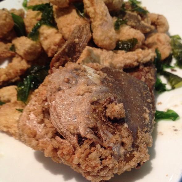 fried fish @ Bellagio