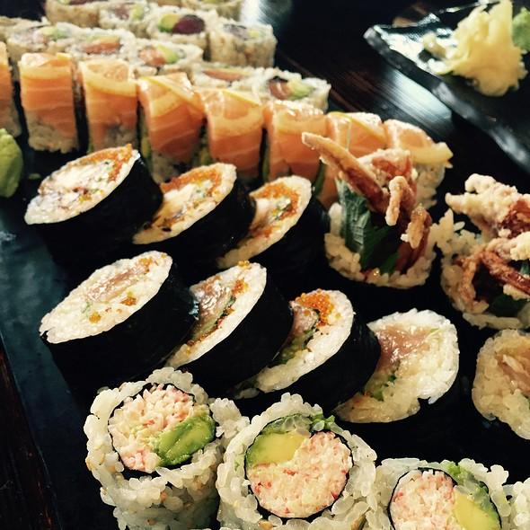 Assorted Sushi - Sanraku Metreon, San Francisco, CA