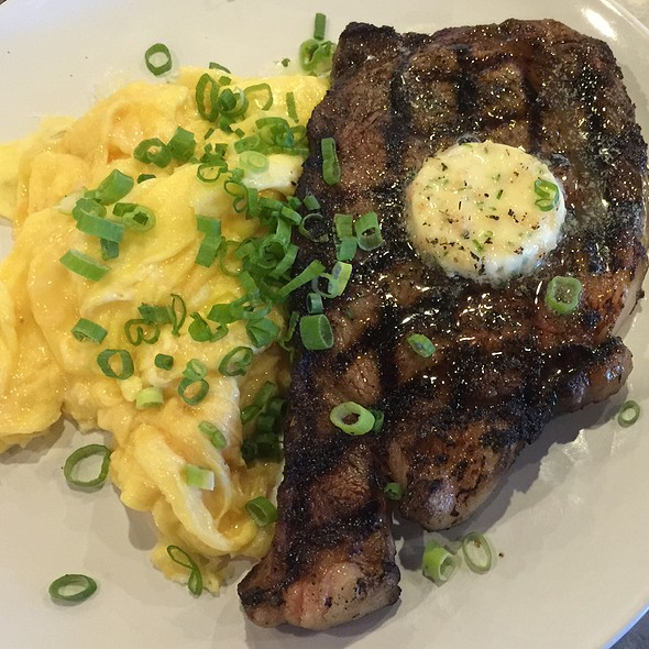 Steak and Eggs @ BC Cafe