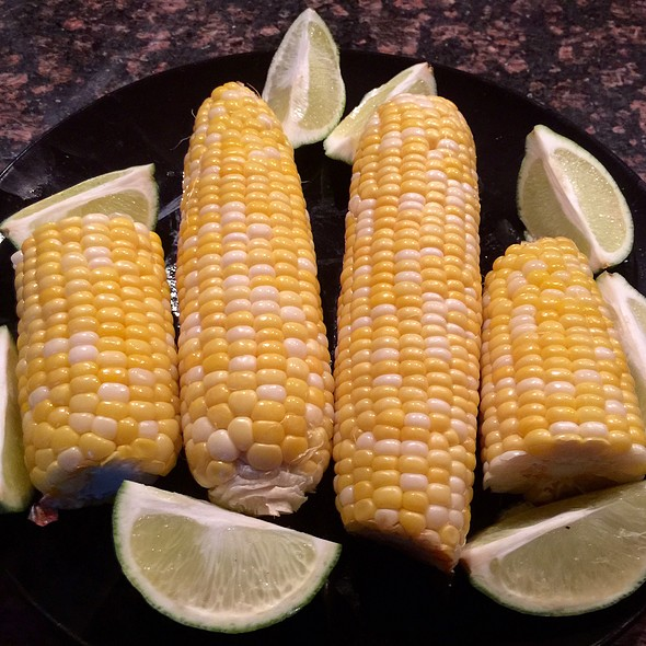Corn On The Cob @ Home