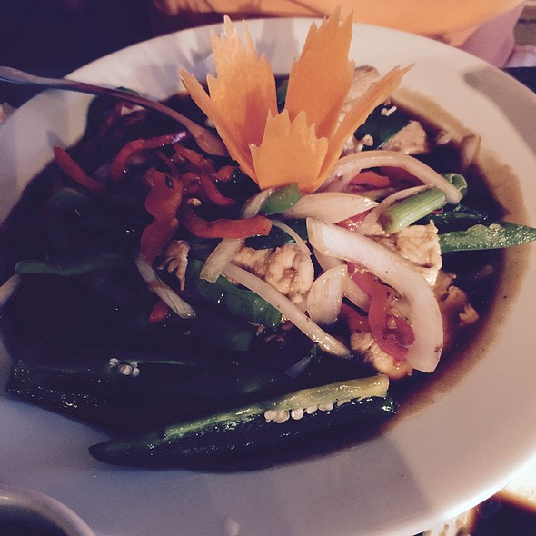 Spicy Basil Chicken @ Bangkok Tokyo