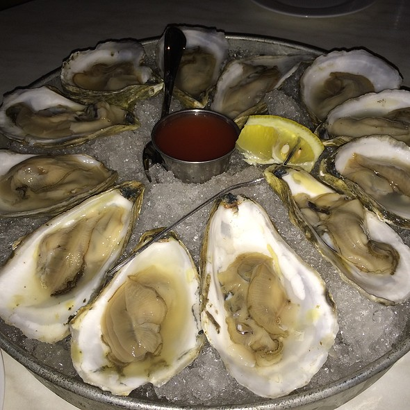 A Dozen Local Oysters - The Daily Catch Seaport, Boston, MA
