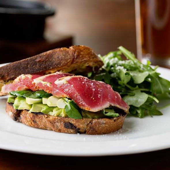 Yellowfin Tuna Sandwich - NIOS, New York, NY