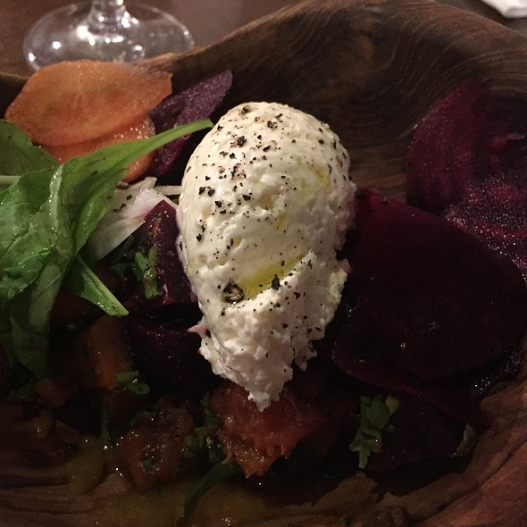 Goat Cheese Mousse Roasted Beet Pumpkin Pickles