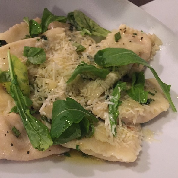 Ravioli Stuffed With Goat Cheese