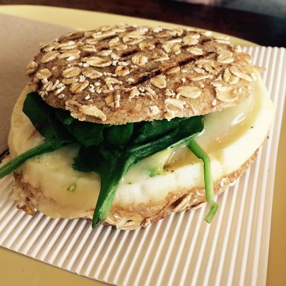 Egg White Breakfast Sand @ Panera Bread