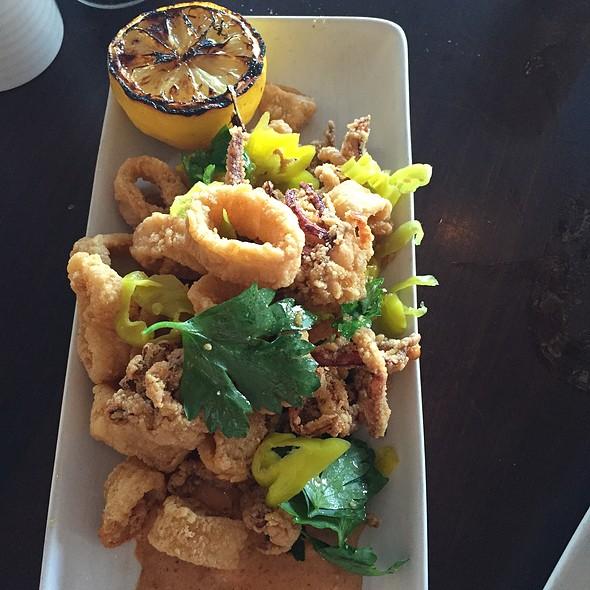 Crispy Calamari - CRU Nantucket, Nantucket, MA