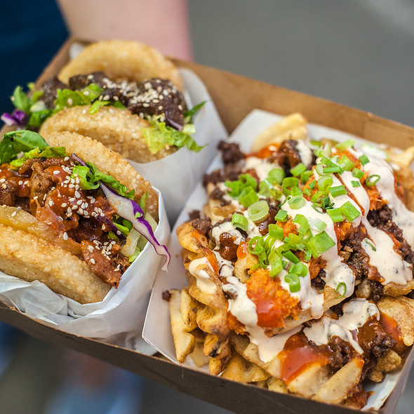 Kamikaze Fries @ Koja Kitchen