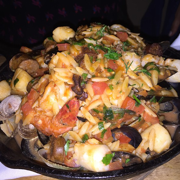 Seafood Paella - Kefi, New York, NY