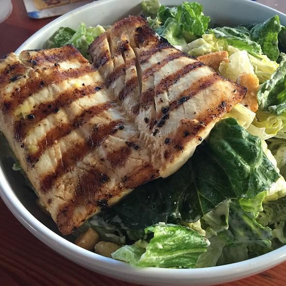 Mahi-Mahi Caesar Salad @ Monty's Seafood Restaurant