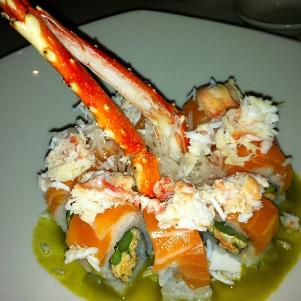 Crab Sushi Roll @ Pure Sushi