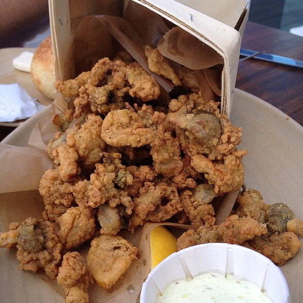 Fried Softshell Clams - Island Creek Oyster Bar, Boston, MA
