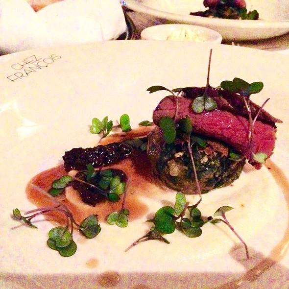 Angus Beef Strip Loin Wild Onions And Morels - Chez Francois - Vermilion, Vermilion, OH