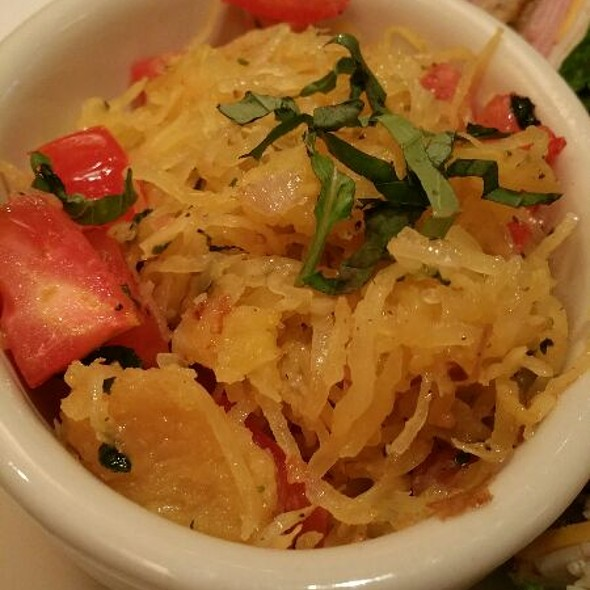Spagetti Squash & Veggies - Stanford Grill, Columbia, MD