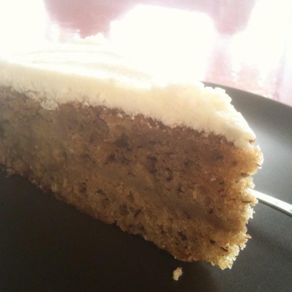 Banana Cake @ Musta Puudli Kohvik