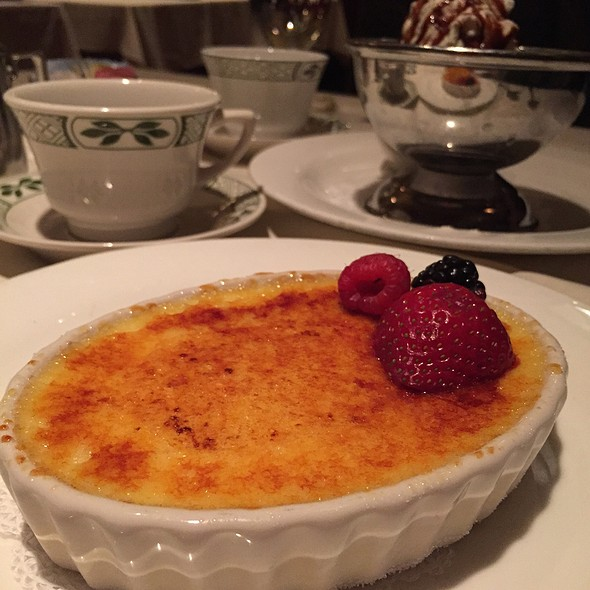 Creme Brulee @ Lawry's the Prime Rib
