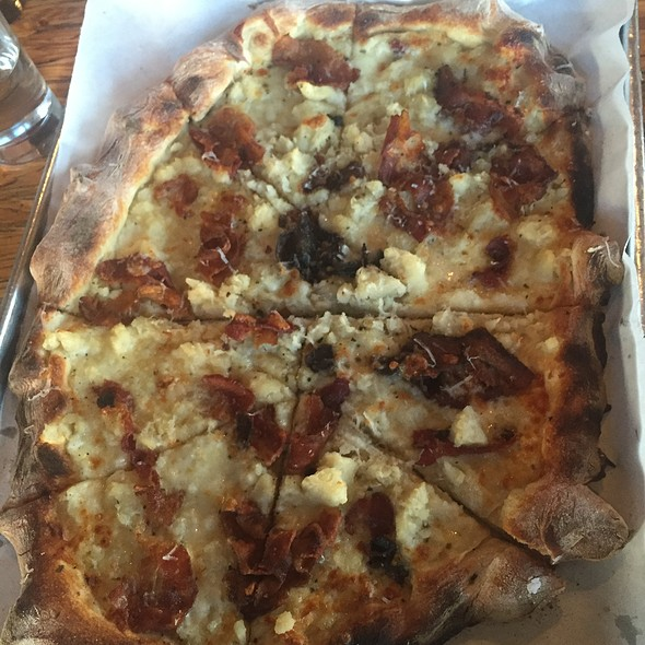 Mashed Potato Pizza - URBN Coal Fired Pizza, San Diego, CA