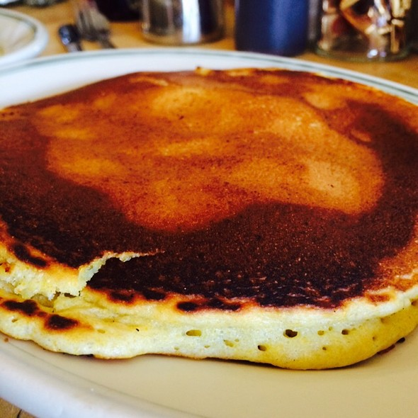 Cornmeal Pancakes @ Just For You