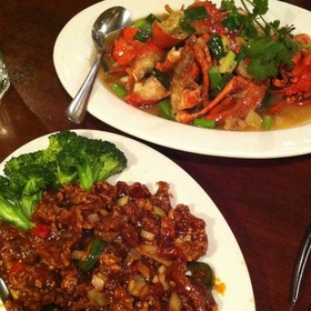 Maine Lobster Chinese Style & Orange Peel Beef