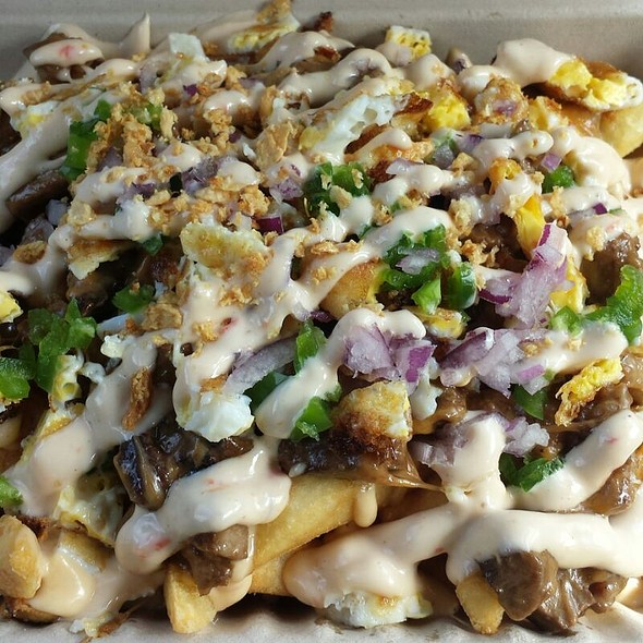 Pork Sisig Fries