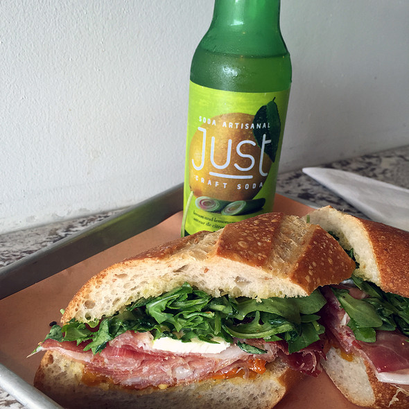 Prosciutto Sandwich @ Brock Sandwich