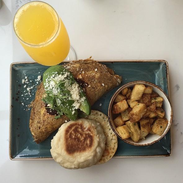 Ancho Omelette @ Magnolia Lounge