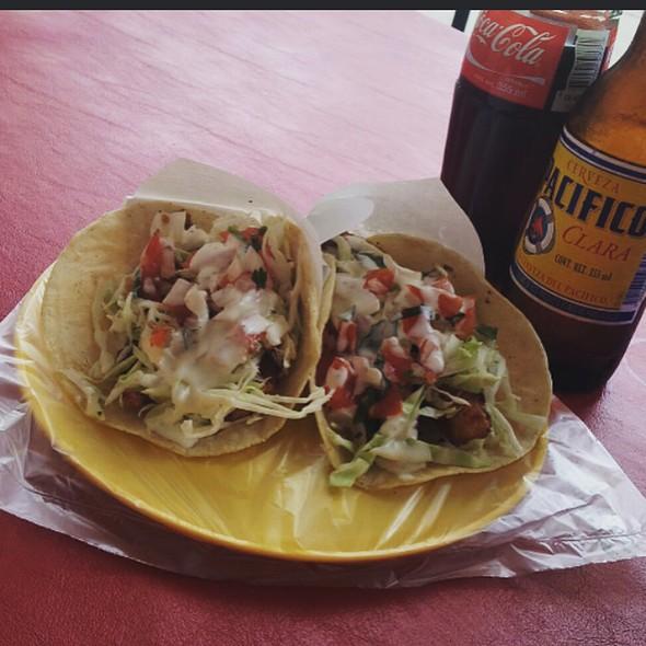 fish tacos @ Tijuana