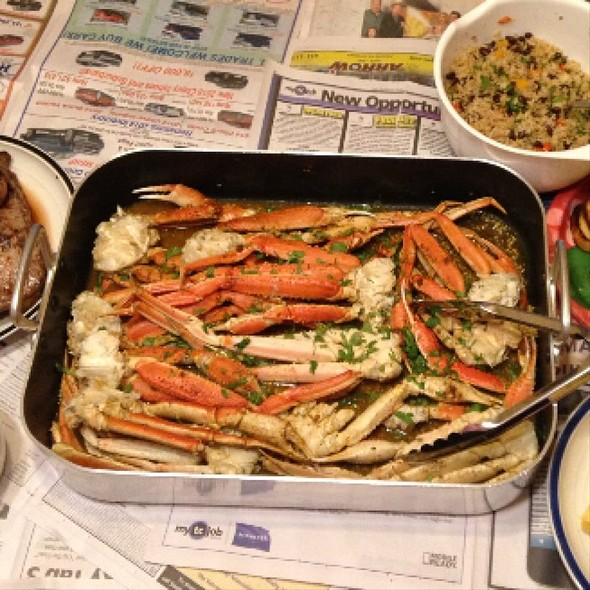Crab Legs @ Comforts Of Home