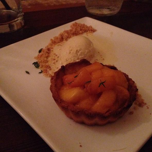 Peach Thyme Tart - Hops & Hominy, San Francisco, CA
