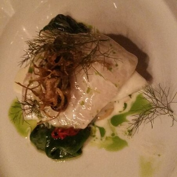 Roasted Turbot with Artichoke and Periwinkles