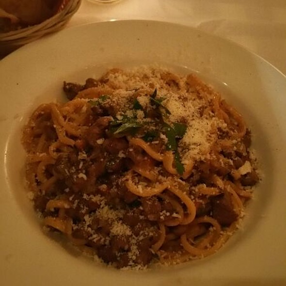 Homemade Spaghetti With Duck Ragu - Osteria al Doge, New York, NY