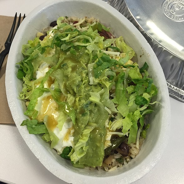 Veggie Bowl @ Chipotle Mexican Grill