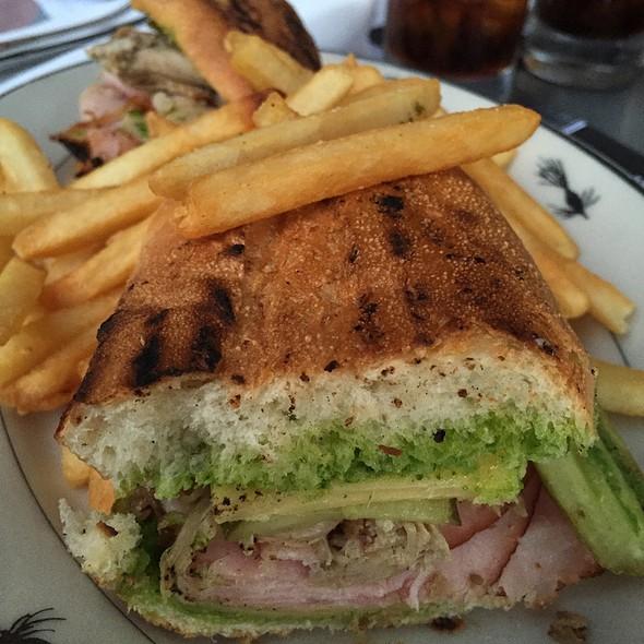 El Cubano Sandwich With Fries - Steelhead Diner, Seattle, WA