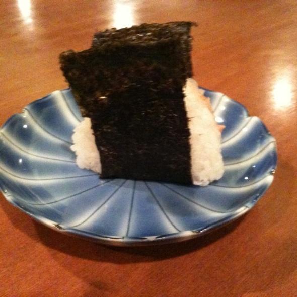 Salmon Onigiri @ Hanamizuki