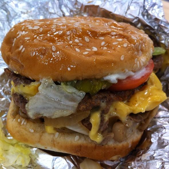 Cheeseburger (All The Way) @ Five Guys Burgers + Fries