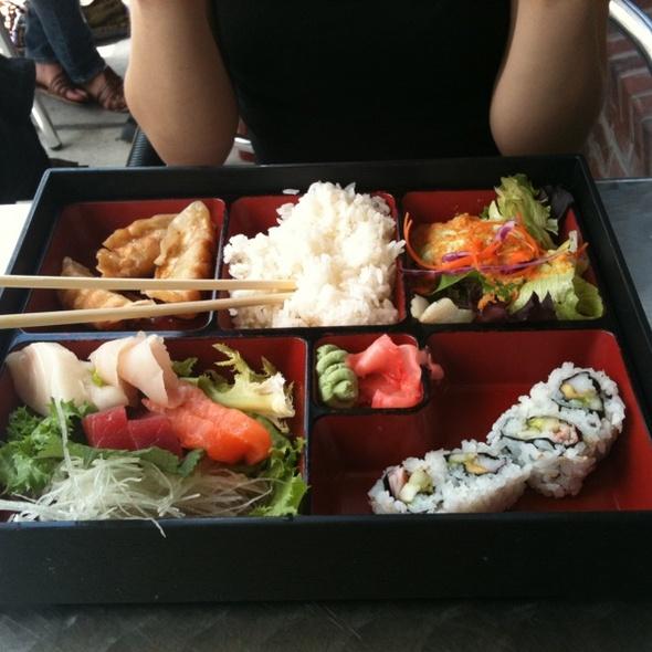 Sashimi bento box @ Seito Sushi Japanese Restaurant