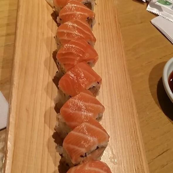 Salmon Guacamole Roll @ Iroha Japanese Restaurant