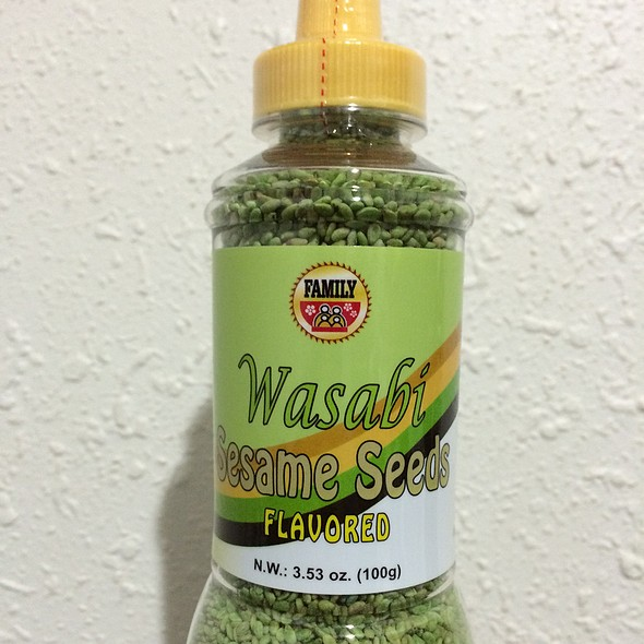 Wasabi Flavored Sesame Seeds @ Longs Drugs