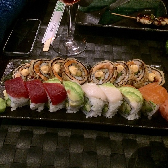 Rainbow Roll And Dragon Eyes Roll
