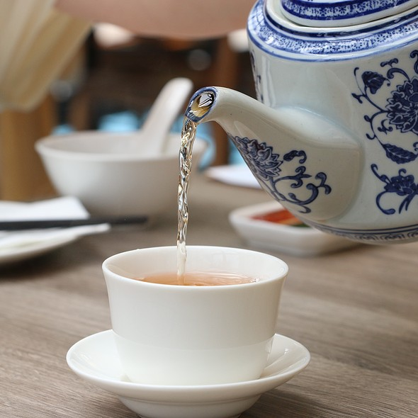 Chinese Tea @ Dolly Dim Sum