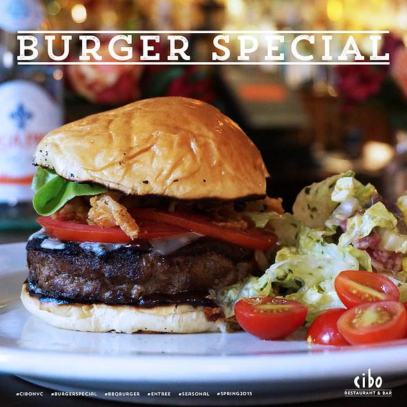 Burger Special - Cibo, New York, NY