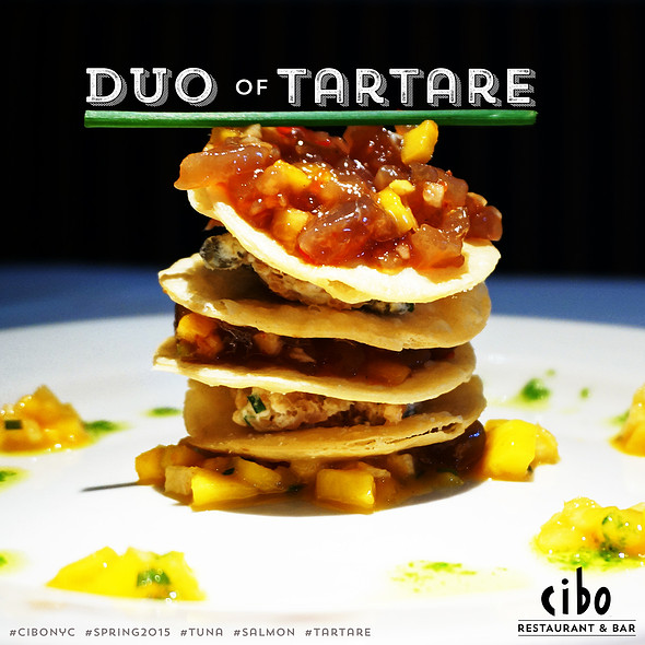 Duo Of Tartare - Cibo, New York, NY