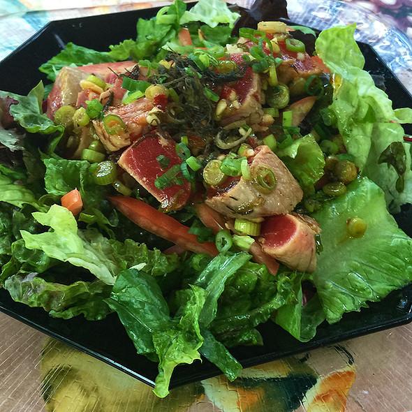 Tuna Poke Salad @ Juliano's