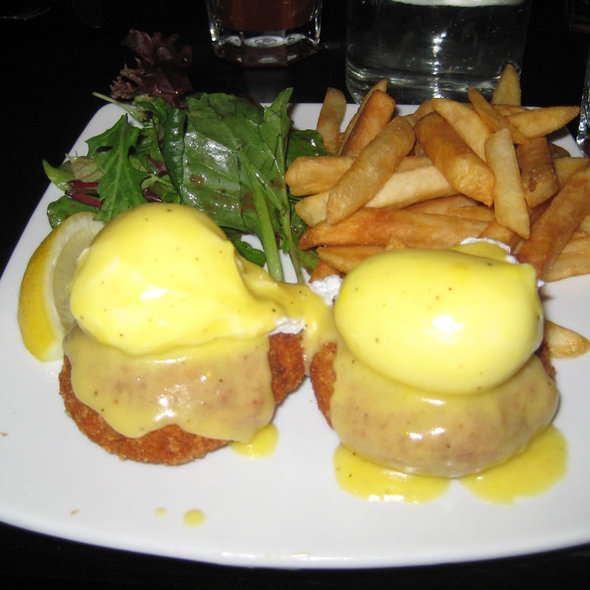 Barrier Reef Benedict @ Sunburnt Cow