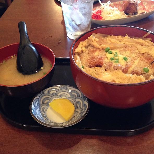 Katsu Donburi @ Temari Cafe