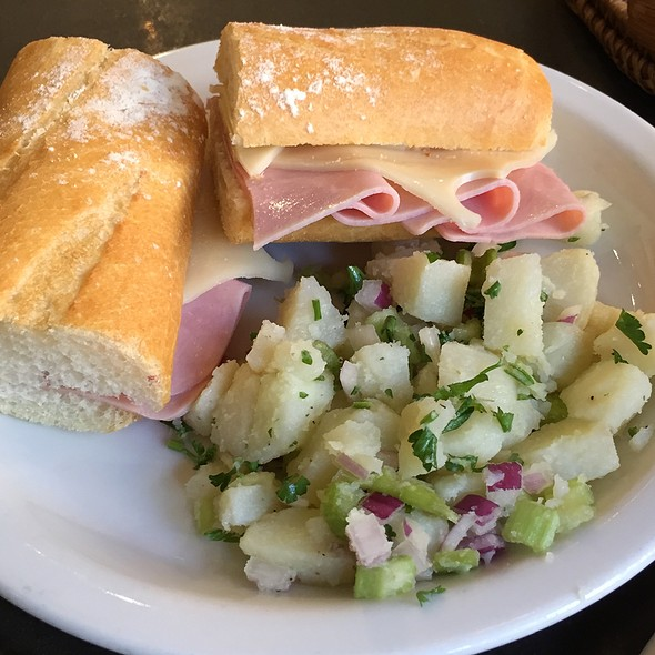 Ham and Swiss Panini @ Cocola