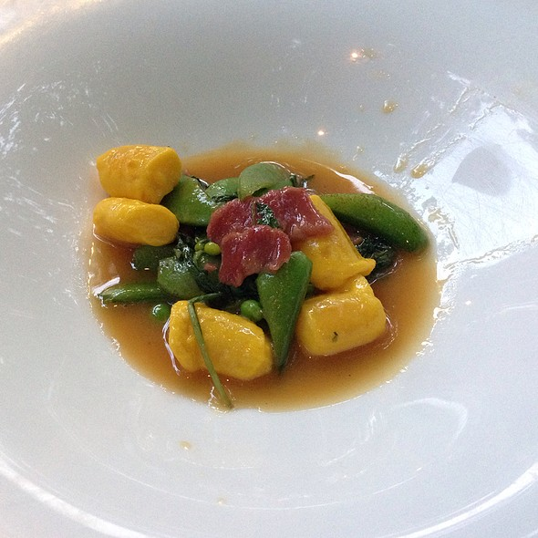 Egg Yolk Gnocchi - The Schoolhouse at Cannondale, Wilton, CT